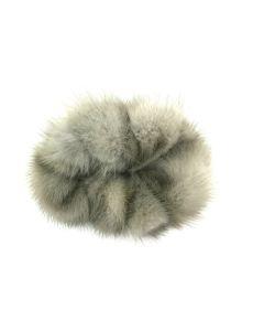 Mink Hårelastik grå