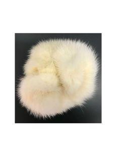 Mink Hårelastik hvid