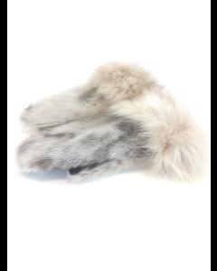Sælluffer med hvidgrå rævekant