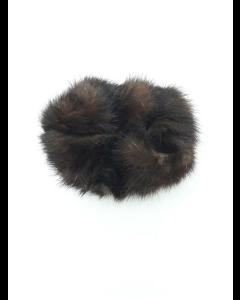 Mink Hårelastik Mørkebrun