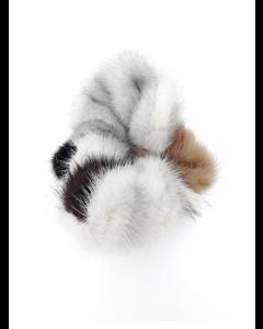 Mink Hårelastik mixfarve