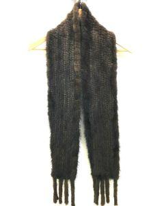 Mink tørklæde 15 X 120 cm.