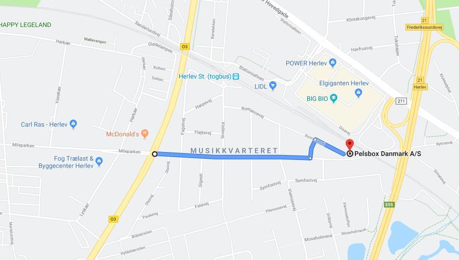 Nemmeste vej til Pelsbox Danmark